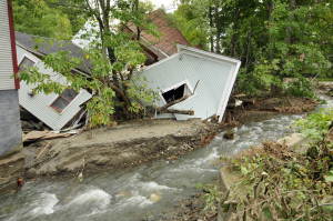 Flood damage (Rochester) Jeb Wallace-Brodeur